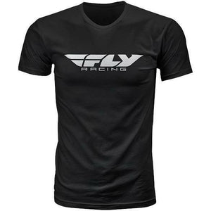 Fly Racing Corporate Tee T-Shirt Fly Racing BLACK MD