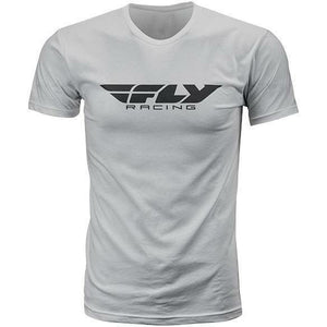 Fly Racing Corporate Tee T-Shirt Fly Racing GREY SM