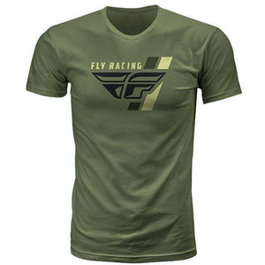 FLY Racing Retro T-Shirt T-Shirt Fly Racing Military Green Small