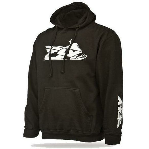 FLY Racing Primary Black Hoodie Hoodie Fly Racing Small