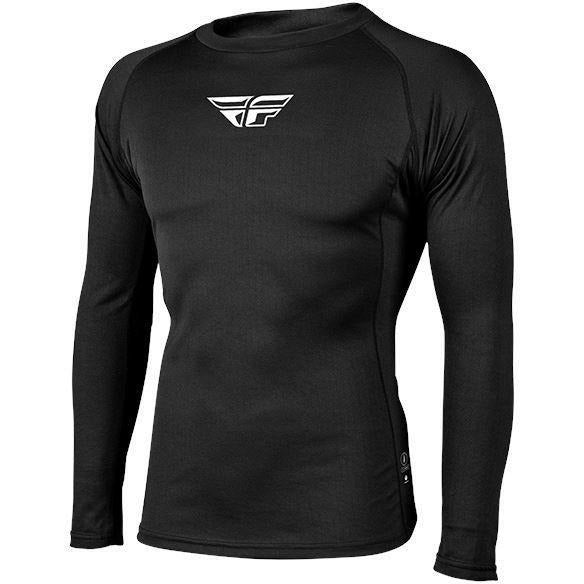 Fly Racing Lightweight Base Layer Top Layers Fly Racing Black L