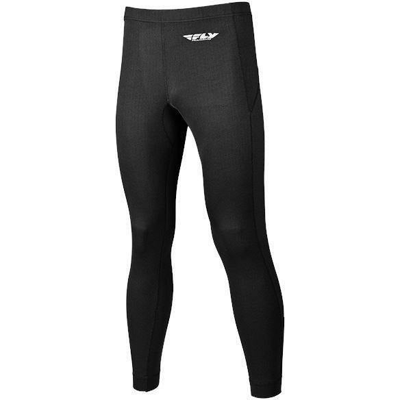 Fly Racing Heavyweight Base Layer Pants Layers Fly Racing Black 2X
