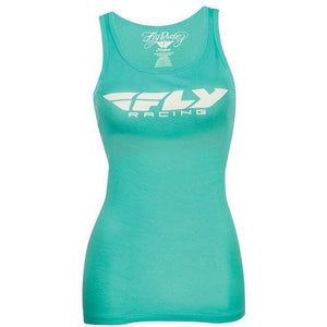 Fly Racing Women's Corporate Tank T-Shirt Fly Racing Teal SM
