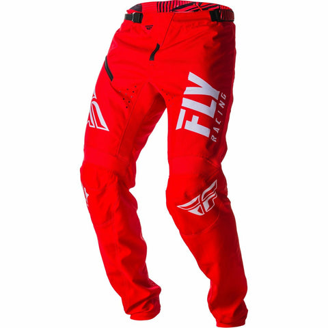 Fly Racing Kinetic Shield BMX Pants Pants & Bibs Fly Racing RED/WHITE 26