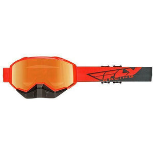 Fly Racing 2019 Zone Snow Goggle Goggles Fly Racing Hi-Vis Org/Gry W/Org Mirror