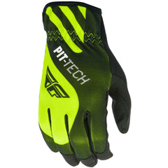 Fly Racing Pit-Tech Lite Moto Glove Gloves Fly Racing Hi-Vis/Black Small (08)