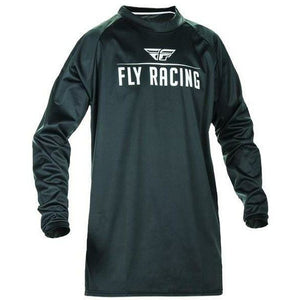 Fly Racing Moto Windproof Jersey Jersey Fly Racing Black/Grey 2X