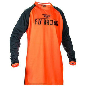 Fly Racing Moto Windproof Jersey Jersey Fly Racing Flourescent Orange/Black 2X