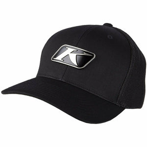 Klim Icon Snapback Hat Hat Klim Black - Asphalt Adult