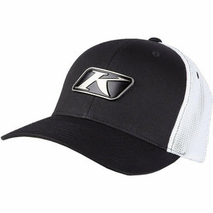 Klim Icon Snapback Hat Hat Klim Black - White Adult