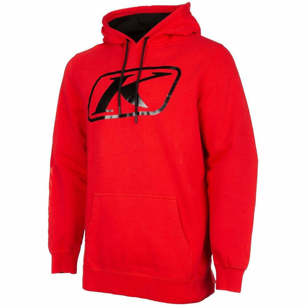 Klim K Corp Hoodie 21 - New Casual Klim Red - Black Metallic 21 SM