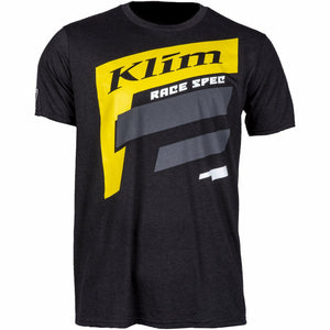 Klim Race Spec SS T - New T-Shirt Klim Race Spec SS T SM Black - Yellow