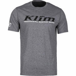 Klim K Corp SS T - New T-Shirt Klim K Corp SS T YSM Gray Frost - Black