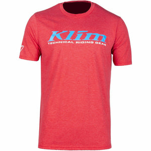 Klim K Corp SS T - New T-Shirt Klim K Corp SS T SM Red Frost - Vivid Blue