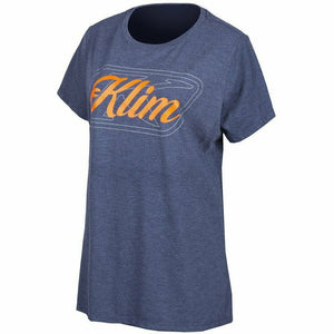 Klim Kute Corp SS T 21 Casual Klim Navy Frost - Strike Orange XS