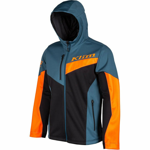 Klim Transition Hoodie - New Hoodie Klim Transition Hoodie SM Strike Orange