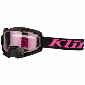 Klim Viper Snow Goggle 21 Goggles Klim Linkage Knockout Pink/Pink Tint 21