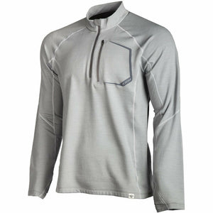 Klim Teton Merino Wool 1/4 Zip Shirt Layers Klim Gray SM