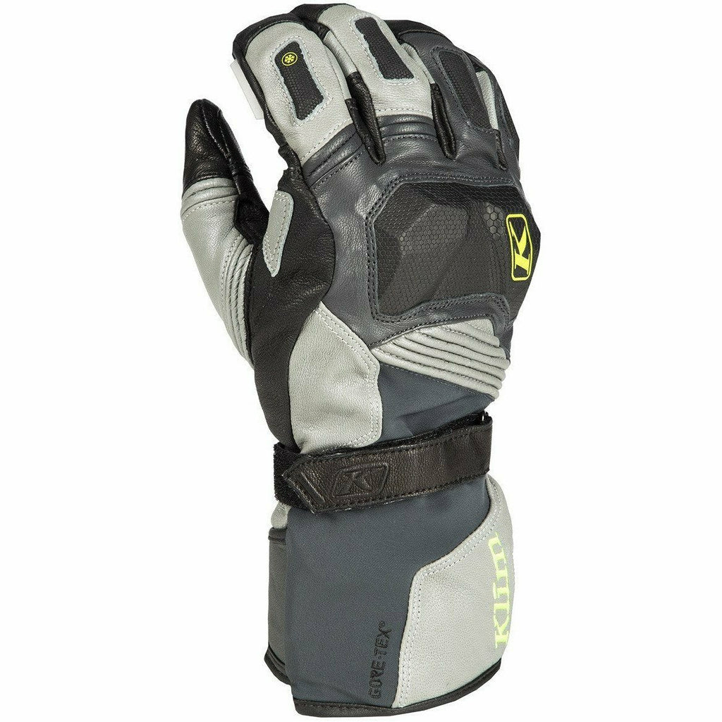 Klim Badlands GTX Long Off-Road Glove Gloves Klim Gray SM