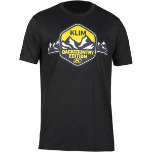 Klim Backcounty Edition SS T - New T-Shirt Klim Backcounty Edition SS T SM Black - Yellow