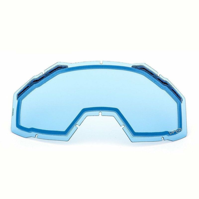 Klim Viper Replacement DBL Lens 21 Accessories Klim Blue Tint