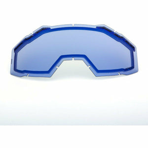 Klim Viper Replacement DBL Lens 21 Accessories Klim Light Smoke Blue Mirror