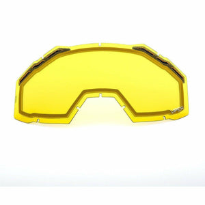 Klim Viper Replacement DBL Lens 21 Accessories Klim Yellow Tint