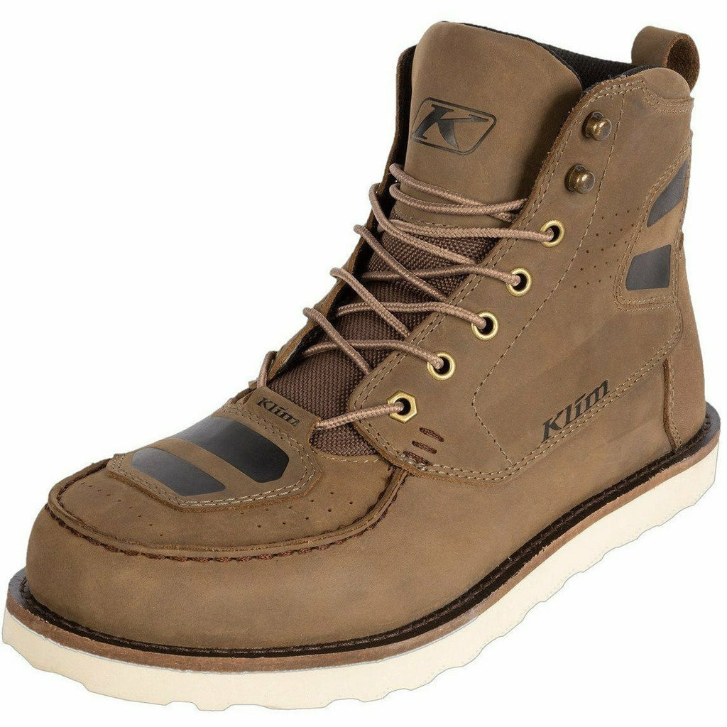 Klim Blak Jak Leather Boot Footwear Klim Tanner Brown 7