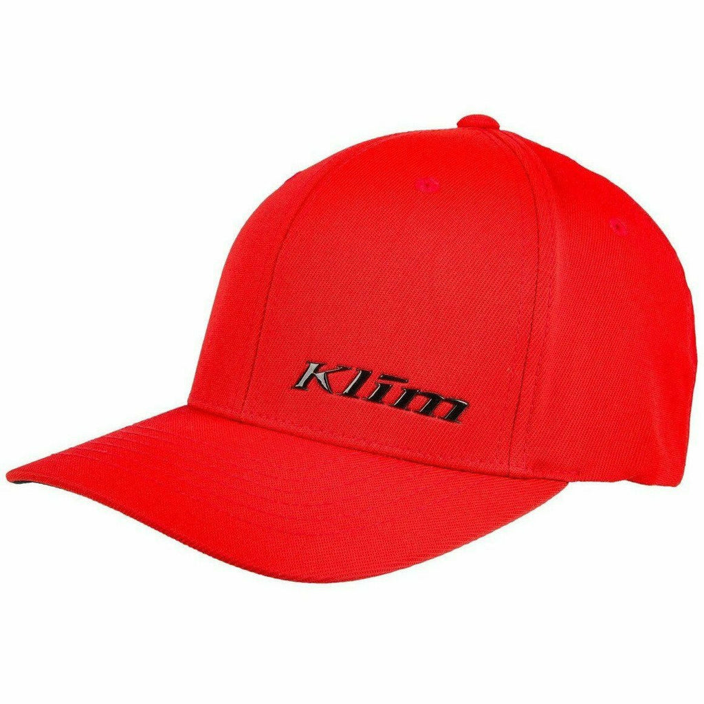 Klim Stealth Flex Fit Hat 21 Hat Klim Red 21 SM - MD