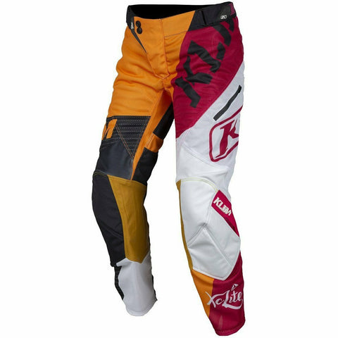 Klim Women's XC Lite Off-Road Pant Pants & Bibs Klim Orange 4