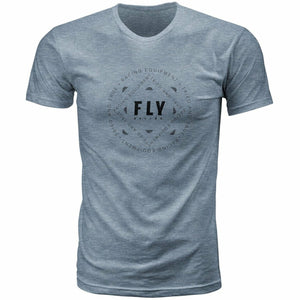 Fly Racing Tried Tee 2020 Fly 2020 DARK GREY HEATHER 2X