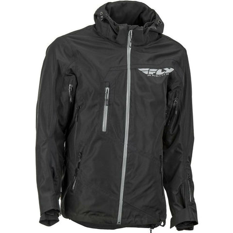 Fly Racing Carbon Jacket 2019 Jacket Fly Racing Black 2X