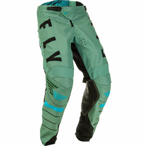 Fly Racing Youth Kinetic K120 Pants Fly Racing Off-Road Sage Green/Black 18