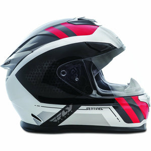 Fly Racing Sentinel Mesh Street Helmet Helmet Fly Racing GREY/RED XS