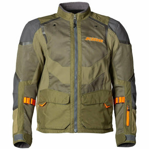 Klim Baja S4 Jacket Jacket Klim Sage - Strike Orange SM