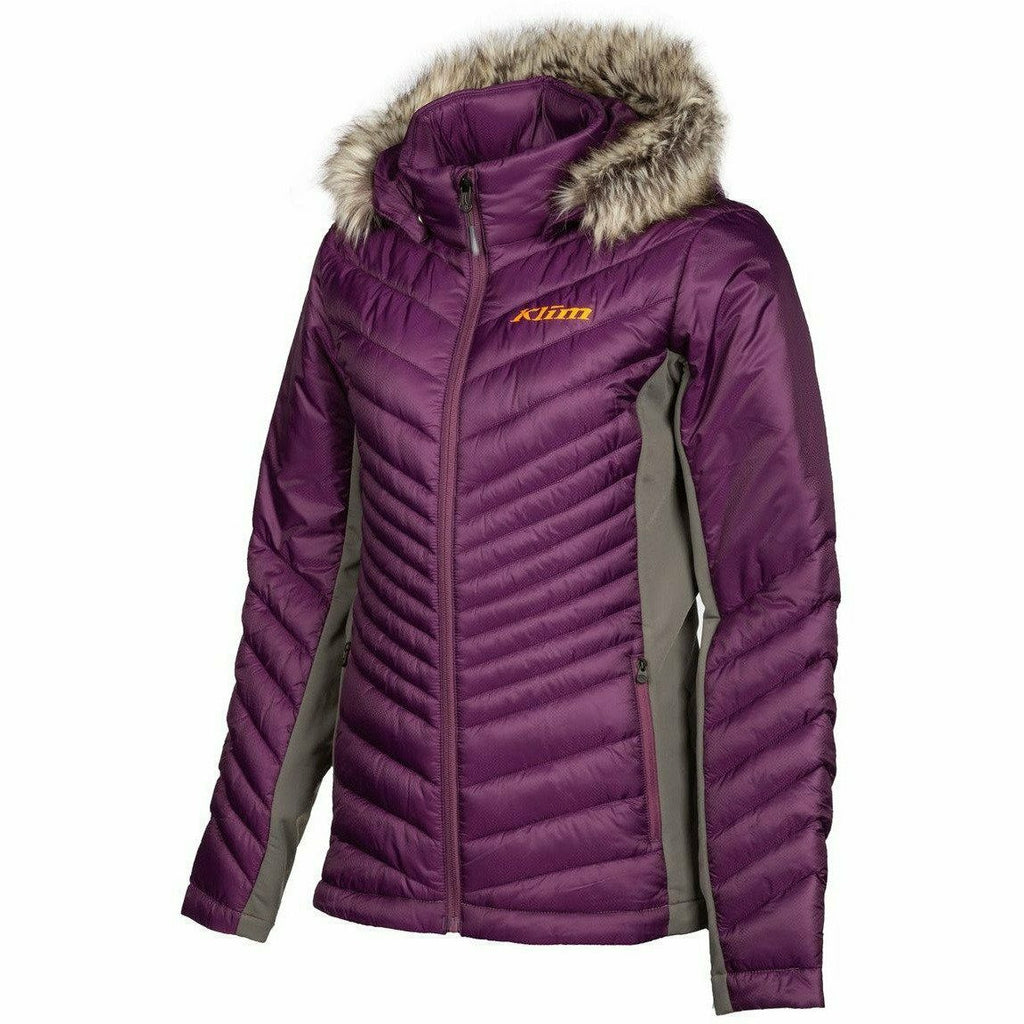 Klim Waverly Women's Jacket 21 Jacket Klim Dark Purple/Strike Orange 21 SM