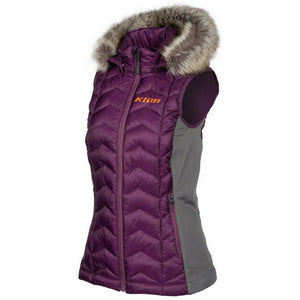 Klim Arise Women's Vest 21 vest Klim Deep Purple - Strike Orange 21 XS