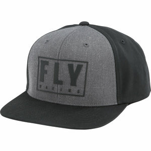 Fly Racing Youth Gasket Hat Fly Racing Off-Road Black/Grey YOUTH