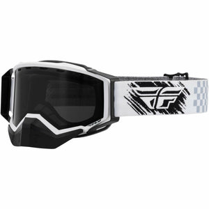 Fly Racing Zone Snow Goggle 21 Fly Racing 2021 White/Black W/ Dark Smoke Lens 21