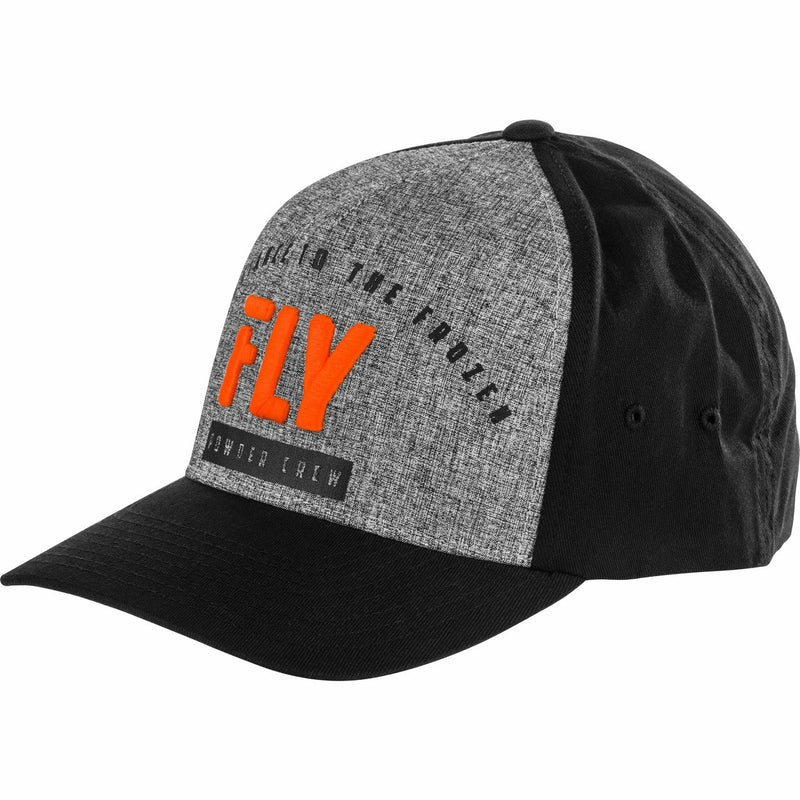 Fly Racing Powder Crew Flex Fit Hat Hat Fly Racing ORANGE LG/XL