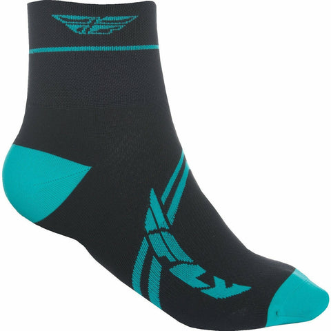 Fly Racing Action Socks Footwear Fly Racing TEAL/BLACK SM/MD