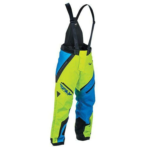 Fly Racing Snx Pro Bib Pants & Bibs Fly Racing Blue/Hi-Vis 2X