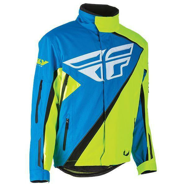 Fly Racing Pro Snx Jacket 2019 Jacket Fly Racing Blue/Hi-Vis S