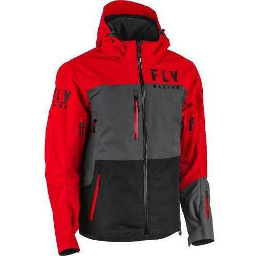 Fly Racing Carbon Jacket 21 Jacket Fly Racing Red/Black/Grey 21 2X