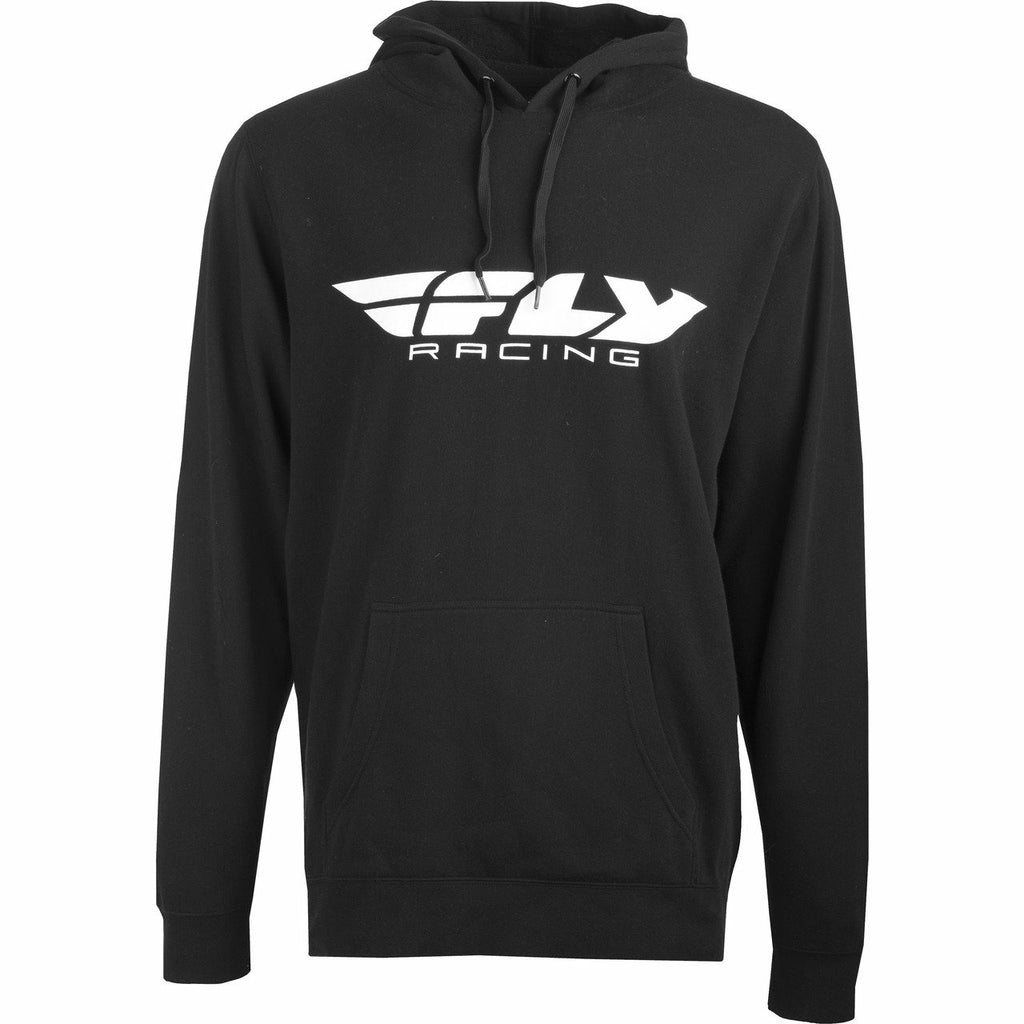 Fly Racing Youth Corporate Pullover Hoodie Fly Racing Off-Road Black YL/YX