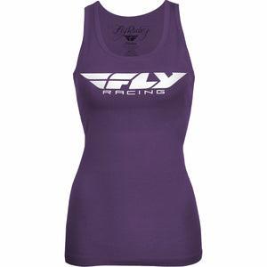 Fly Racing Women's Corporate Tank Casual Fly Racing Purple 2X