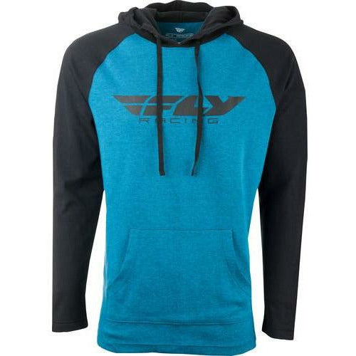 Fly Racing Lightweight Hoodie Hoodie Fly Racing Teal/Black M