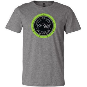 MFP Snow Mountain Tee Casual MoreFreakinPower Heather Gray SM