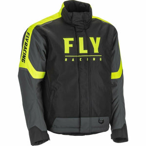 Fly Racing Outpost Jacket 21 Fly Racing 2021 Black/Grey/Hi-Vis 21 2X