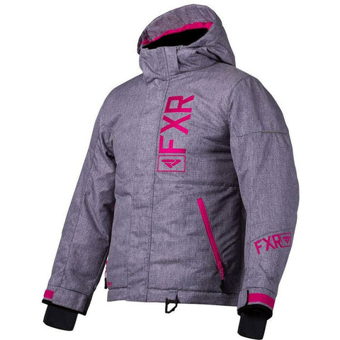 FXR Fresh Youth Jacket 2020 Jacket FXR 2020 Grey Linen/Fuchsia 10